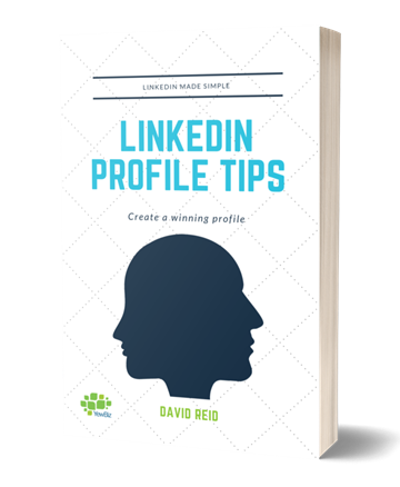 Image of free LinkedIn profile tips book cover